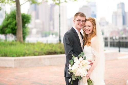 Amanda's wedding photo