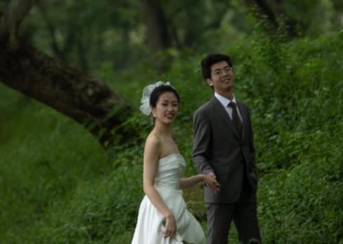 Derrick and Bride